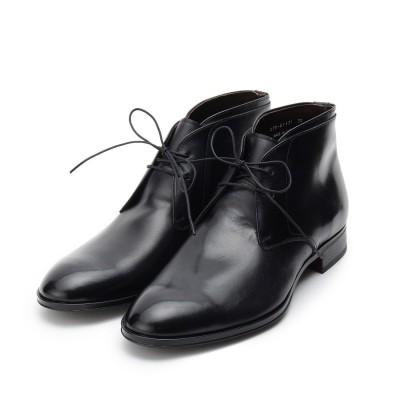 タケオ キクチ TAKEO KIKUCHI ◆スエードチャッカーブーツ [ メンズ ブーツ ビジネス ] (ブラック)