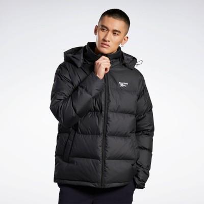 リーボック Reebok コア ショート ダウン ジャケット / Core Short Down Jacket (ブラック)