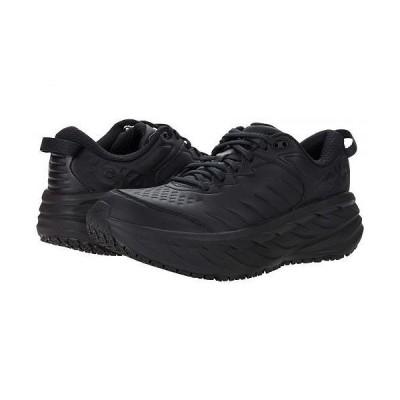 Hoka One One ホカオネオネ レディース 女性用 シューズ 靴 スニーカー 運動靴 Bondi SR - Black/Black