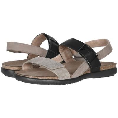 ナオト Naot レディース サンダル・ミュール シューズ・靴 Norah Speckled Beige Leather/Stone Nubuck/Soft Black Leather