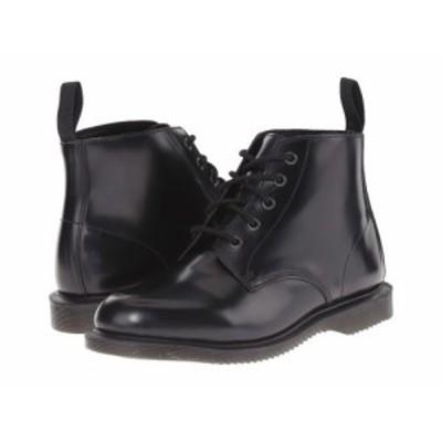 Dr. Martens ドクターマーチン レディース 女性用 シューズ 靴 ブーツ レースアップ 編み上げ Emmeline Black Polished【送料無料】