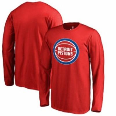 Fanatics Branded ファナティクス ブランド スポーツ用品  Fanatics Branded Detroit Pistons Youth Red Primary Logo