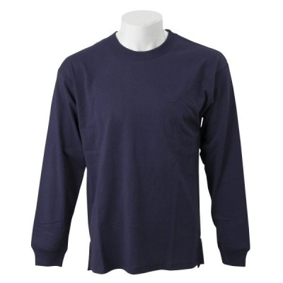 VANSウェア Vertical Logo Long T-Shirt ヴァンズ ロングスリーブTシャツ VA-L024 NAVY