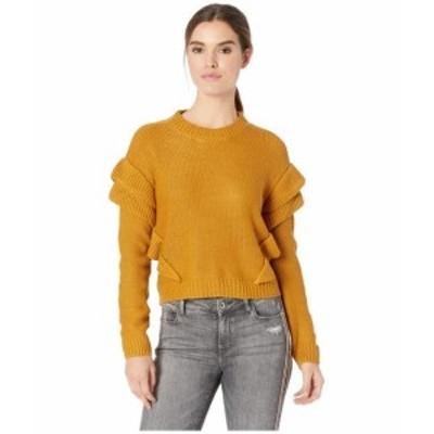 BB Dakota ビービーダコタ 服 スウェット Cabin Fever Ruffle Sleeve Sweater