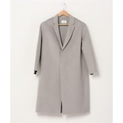 コート チェスターコート LE GLAZIK / ルグラジック ラムズウールコート LAMBS WOOL COAT #J8101
