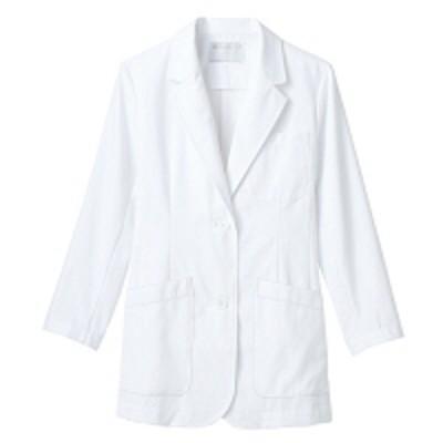 住商モンブラン住商モンブラン ドクターブレザー(レディス・長袖) 医療白衣 診察衣 白 シングル M 71-301(直送品)