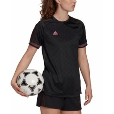 アディダス レディース シャツ トップス Women's Ultimate Training Jersey Black/Pink