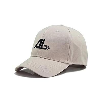 [Lovechic] キャップ 大きいサイズ メンズ 帽子 深め 特大 60-65cm おしゃれ 春 夏 秋冬 男女兼用(オフホワイト-AB)