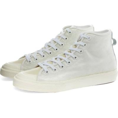 アディダス Adidas メンズ スニーカー シューズ・靴 nizza hi White/Off White