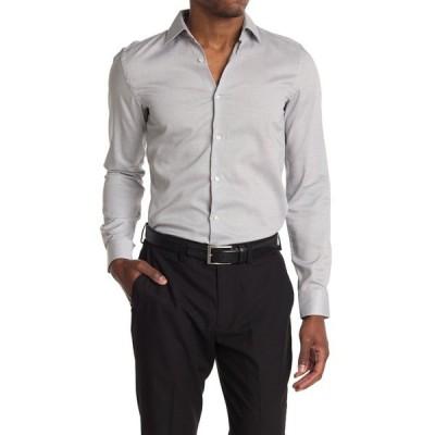ボス メンズ シャツ トップス Slim Fit Dress Shirt BLK