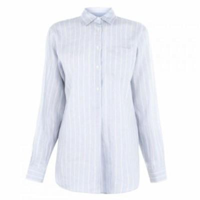 ラルフ ローレン Lauren by Ralph Lauren レディース ブラウス・シャツ トップス Lauren Aquene Long Sleeve Shirt Blue Multi
