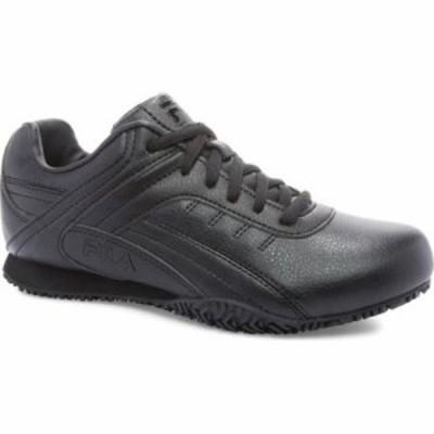 フィラ その他シューズ Memory Elleray 5 Slip Resistant Shoe Black/Black/Black