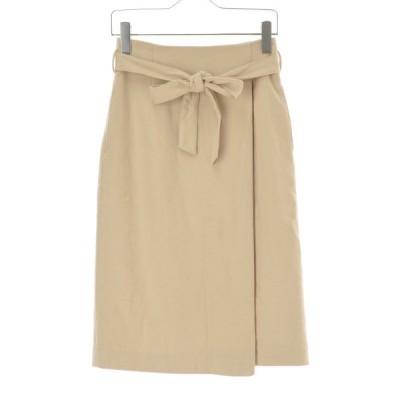 【期間限定値下げ】NATURAL BEAUTY BASIC / ナチュラルビューティーベーシック ベルト付き起毛 スカート