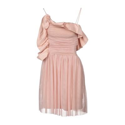 ピンコ PINKO ミニワンピース&ドレス ピンク 42 100% ポリエステル ミニワンピース&ドレス
