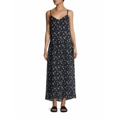 ヴィンス レディース ワンピース Calico Floral-Print Silk Maxi Dress
