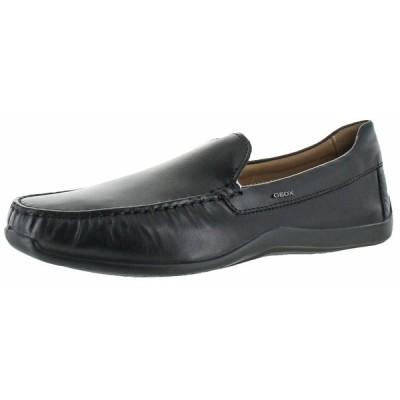 カジュアルシューズ ゲオックス Geox U Xense Mox Men's Slip On Loafer Driving Moccasins Shoes