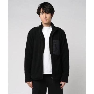 ジャケット ブルゾン 【BS】シープボアジャケット(胸ポケット付)