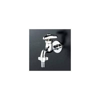 ▽KVK 水栓金具 カップリング付横水栓【K4】