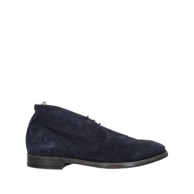 OFFICINE CREATIVE ITALIA ショートブーツ  メンズファッション  メンズシューズ、紳士靴  ブーツ  その他ブーツ ダークブルー
