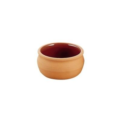 耐熱性陶器 テラコッタ ミニ容器 平つぼ