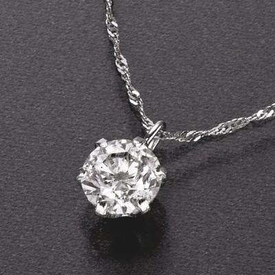 ◆Pt0.4ctダイヤペンダント レディース