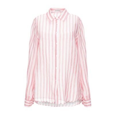 CAMICETTASNOB シャツ ピンク 40 コットン 46% / レーヨン 41% / レーヨン 13% シャツ