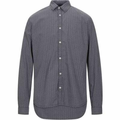 ペトロール インダストリーズ PETROL INDUSTRIES Co. メンズ シャツ トップス patterned shirt Dark blue