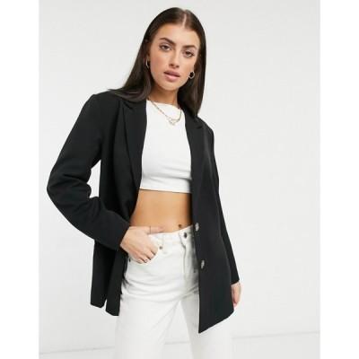 ワイ エー エス Y.A.S レディース スーツ・ジャケット アウター oversized blazer in black ブラック