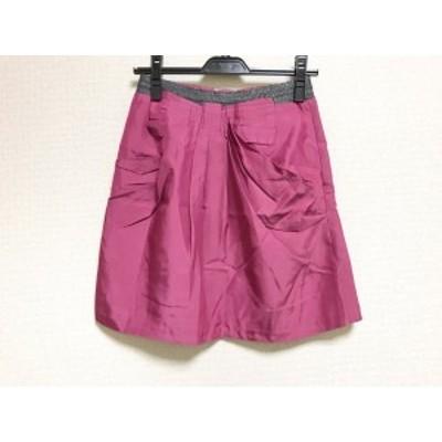 アプワイザーリッシェ Apuweiser-riche スカート サイズ2 M レディース 美品 ピンク【中古】