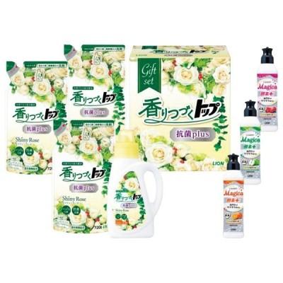 お中元 ギフト 送料無料 ライオン 香りつづくトップ抗菌plusギフト-LKT-30[ヘ]cgen【YHO】_K210506101514