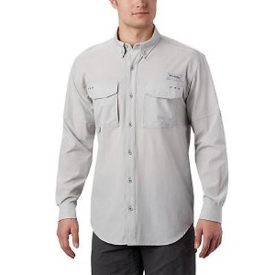 (取寄)コロンビア メンズ パーミット ウーブン ロングスリーブ シャツ Columbia Men's Permit Woven LS Shirt Cool Grey
