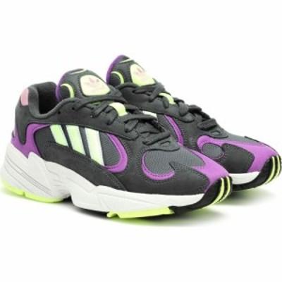 アディダス Adidas Originals レディース スニーカー シューズ・靴 yung-1 faux suede sneakers Legivy/Hireye/Actpur