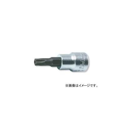 """コーケン/Koken 3/8""""(9.5mm) イジリ止めペンタローブビットソケット 3025-50-10PR"""