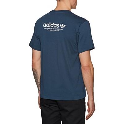 アディダス Adidas Skateboarding メンズ Tシャツ トップス adidas 4.0 logo short sleeve t-shirt Crewnavy