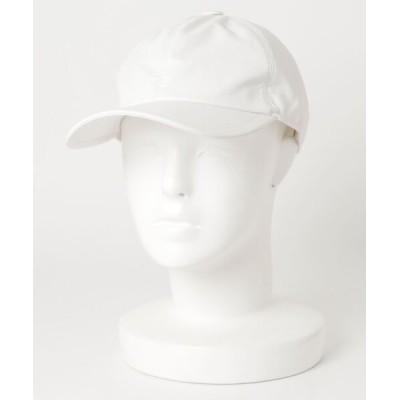BEAMS MEN / IG / フェイクレザー ベースボールキャップ MEN 帽子 > キャップ