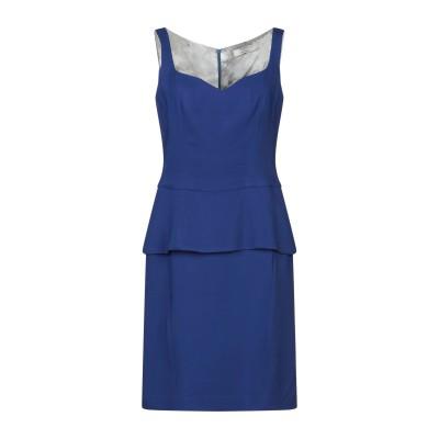 D.EXTERIOR ミニワンピース&ドレス ブルー 42 レーヨン 96% / ポリウレタン 4% ミニワンピース&ドレス