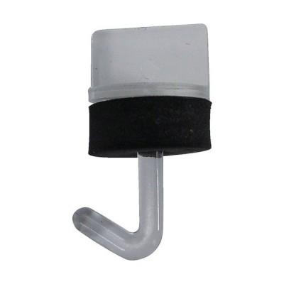 ダイドーハント ポリカワンタッチフック クリアー 25mm 00032487 1袋(10本) (お取寄せ品)