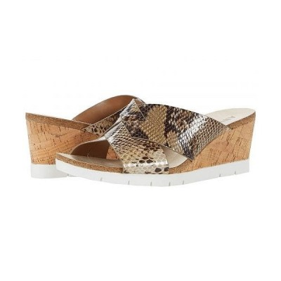 Anne Klein アン クライン レディース 女性用 シューズ 靴 ヒール Lexy - Cognac Reptile