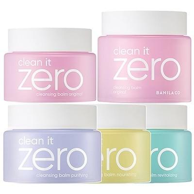 [banila co.](5種) クリーンイットゼロ クレンジングバームオリジナル大容量/ナリーシン/ピュリファイング/リバイタライジングClean it Zero Cleansing Balm