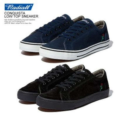 RADIALL ラディアル ×POSSESSED SHOE.CO CONQUISTA -  LOW TOP SNEAKER radiall メンズ スニーカー 送料無料 ストリート atfacc