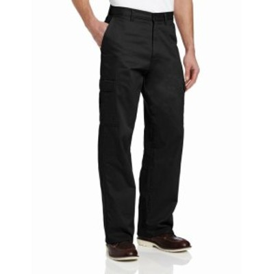Cargo カーゴ ファッション パンツ Dickies NEW Black Mens Size 36x32 Loose-Fit Workwear Cargo Pants