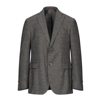 RDG テーラードジャケット スチールグレー 52 ポリエステル 90% / レーヨン 10% テーラードジャケット