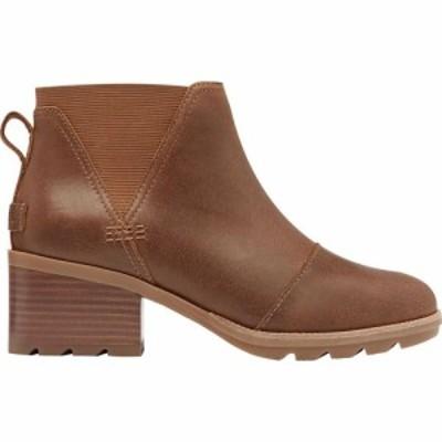 ソレル Sorel レディース ブーツ チェルシーブーツ シューズ・靴 Cate Chelsea Boot Velvet Tan