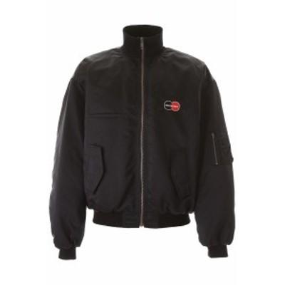 BALENCIAGA/バレンシアガ ブルゾン BLACK Balenciaga bomber jacket with uniform logo メンズ 春夏2020 622007 TYD31 ik