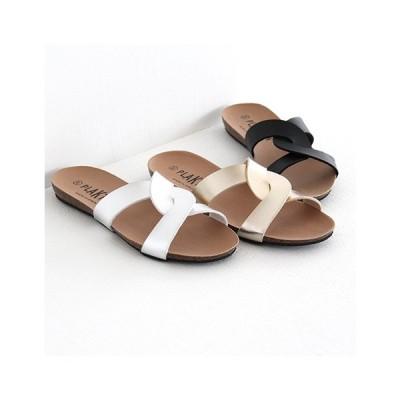 PLAKTON プラクトン コルクソールサンダル No.575549 ミュール/ステップインサンダル レディース 靴