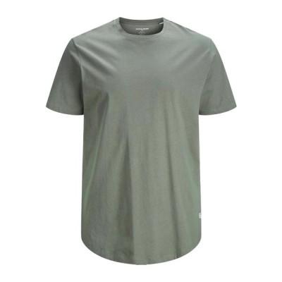 ジャック アンド ジョーンズ Tシャツ メンズ トップス Basic T-shirt - sedona sage