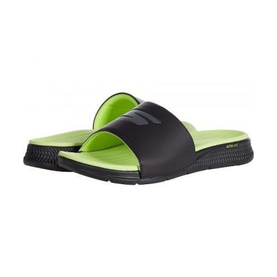 SKECHERS Performance スケッチャーズ メンズ 男性用 シューズ 靴 サンダル Go Consistent Sandal - 229030 - Black/Lime