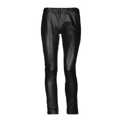 ツインセット シモーナ バルビエリ TWINSET パンツ ブラック 44 ポリエステル 100% / ポリウレタン樹脂 パンツ