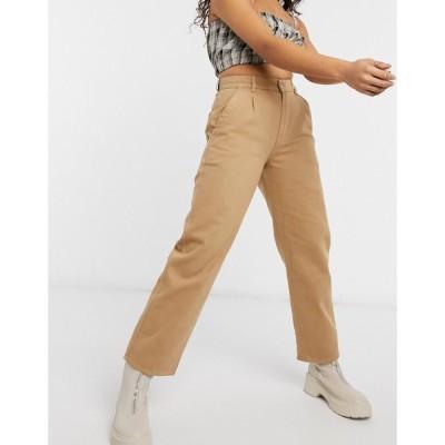 ミンガ Minga レディース ジーンズ・デニム ボトムス・パンツ London High Waisted Mom Jeans In Beige Denim