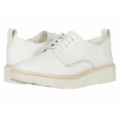 Clarks クラークス レディース 女性用 シューズ 靴 オックスフォード ビジネスシューズ 通勤靴 Trace Walk White Leather【送料無料】